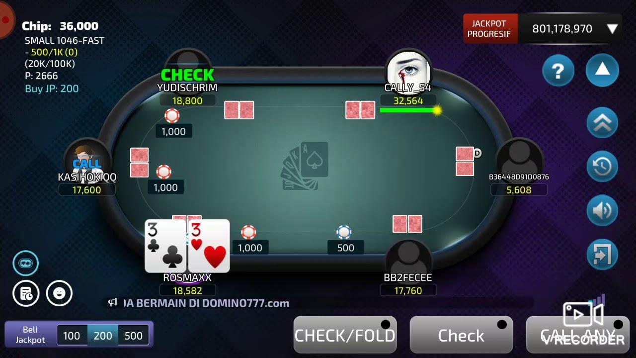 Cara Mudah Menang Main Poker Modal 20rb Jadi 100rb Youtube