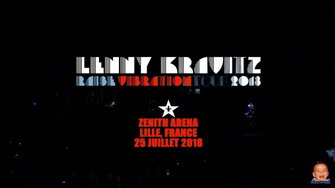 Lenny Kravitz - Raise Vibration Tour, Zenith Arena Lille France 25/07/2018 / Multicam MEROTHPROD.