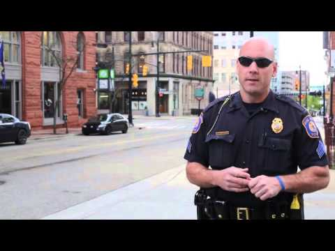 GRPD Sgt. Talks About Stopping A Bank Robber Outside Of Huntington Bank