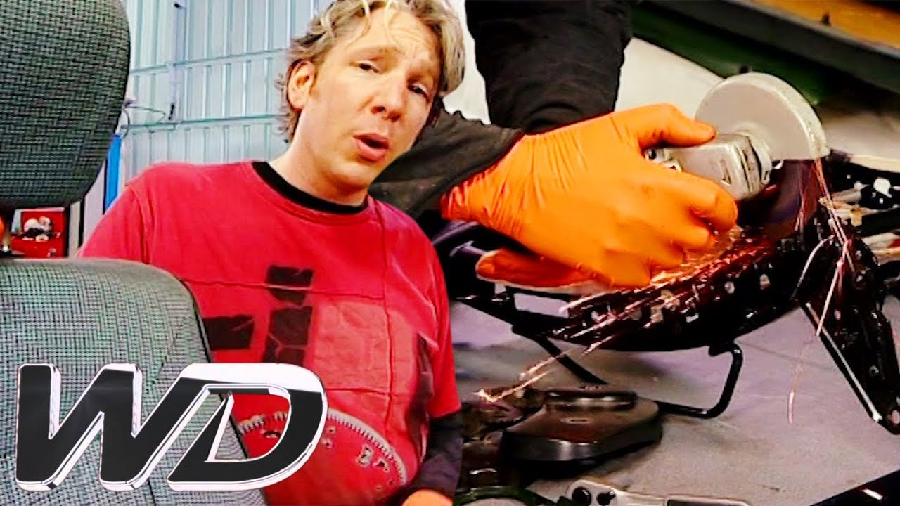 Brand New Audi Quattro Seats Made For Under £200 | Wheeler Dealers