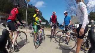Racing Sa Calobra April 9. Cycling Mallorca 2012. Magnus Skarseth Movie