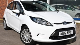 Used Ford Fiesta 1.25 Edge 5dr White 2012