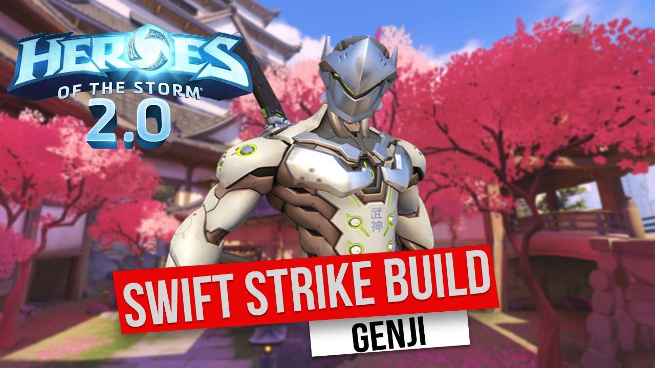 Genji Build Hots
