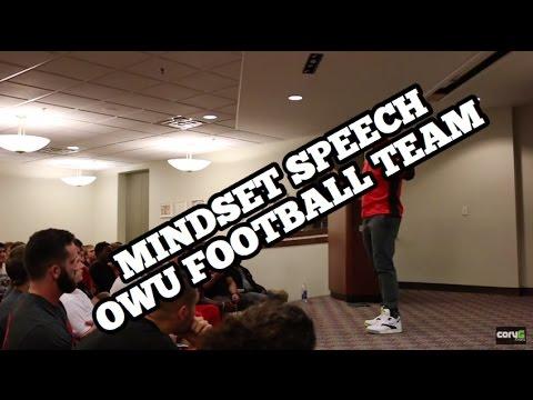 MINDSET SPEECH | Ohio Wesleyan Football