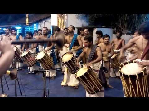 Panchari melam by Kottaram sangeeth marar & Rlv, kalapeedom kottaram sajith marar