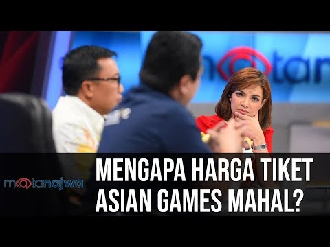 Mata Najwa Part 7 - Demi Asian Games: Mengapa Harga Tiket Asian Games Mahal?