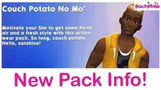The Sims Mobile Couch Potato No Mo' NEW PACK
