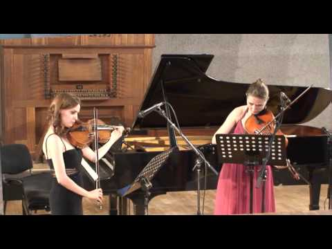Wilhelm Friedemann Bach Duet For Two Violas