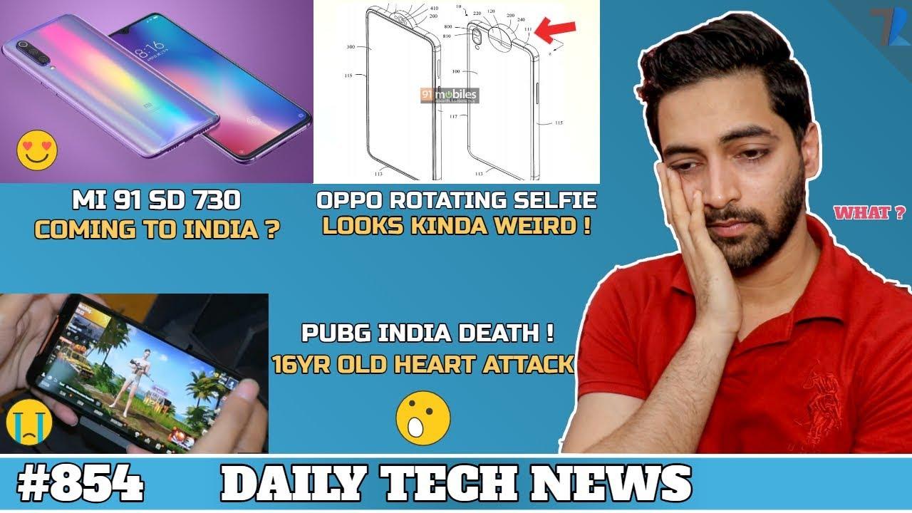 Pubg India Deathmi 9t Sd 730realme 2 Pro Pieoppo Rotating Selfienote 7 Pro Dark Mode 854