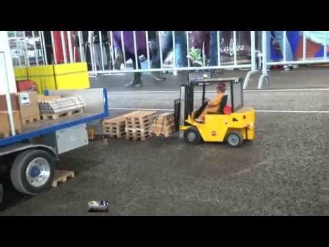 BEST RC SCALE MODEL.com FORKLIFT BIG MODEL scale 1.8 model must see action model