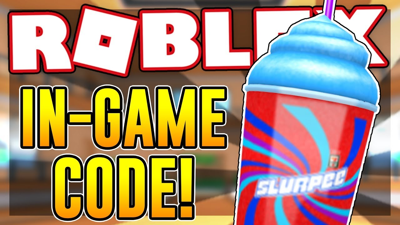 New Code For The Slurpee Gear In Epic Minigames Roblox Youtube