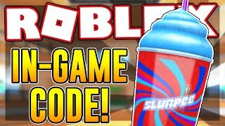 NEW CODE FOR THE SLURPEE GEAR IN EPIC MINIGAMES | Roblox