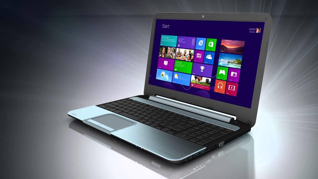 Toshiba Satellite L955 Laptop - YouTube