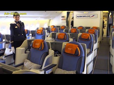 Aeroflot Boeing 777-300 Business Class Hongkong to Moscow [AirClips full flight series]