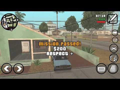 GTA San Andreas Drive Thru (Gameplay, Walkthrough) #5