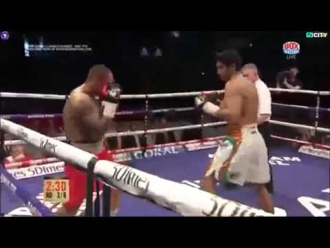 Vijender Singh vs Matiouze Royer Full Fight    vijender  singh 5th pro fight   YouTube 360p