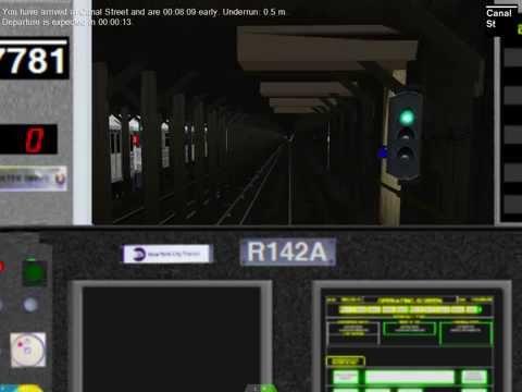 Openbve - 1 Train To VanCourtlandt Park - 242nd Street