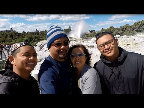 Te Puia Geothermal Park & Maori Cultural Center New Zealand by GoPro Hero 5 Black