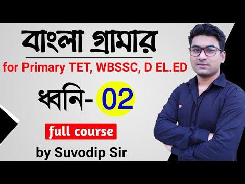 Bengali Grammar | ধ্বনি- 02 | For Primary TET, WBSSC, Upper Primary, D.EL.ED | Bong Education