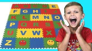 Учим английский Алфавит |  |Песенка ABC про Алфавит | Детские песни с Долгуниками