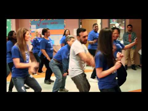 Teachers Doing The Wobble Dance For New Playground Contest