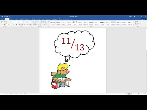 How To Type Fractions In Microsoft Word