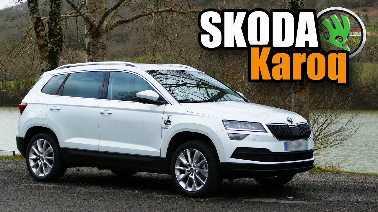 essai skoda karoq 2018 skoda c 39 est le top youtube. Black Bedroom Furniture Sets. Home Design Ideas