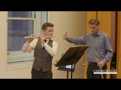 Vienna Philharmonic Flute Master Class with Dieter Flury: Rossini Overture to William Tell