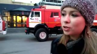 Пожар В Галерее Чижова. Воронеж. 02.04.17 (Часть 2)