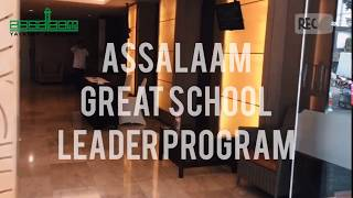 Workshop Assalaam Great School Leader Program oleh Sayed Hyder CEO Millennia 21st Century Academy's