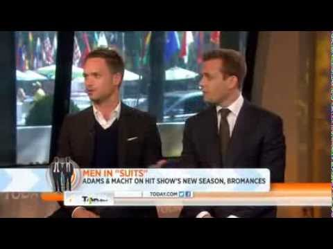 Gabriel Macht and Patrick J. Adams on The Today   Suits Staffel 3 Deutsch