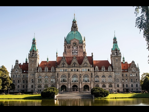 Hanover, Lower Saxony, Germany - city tour