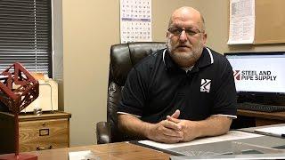 Voortman Customer Testimonials - Steel and Pipe Supply