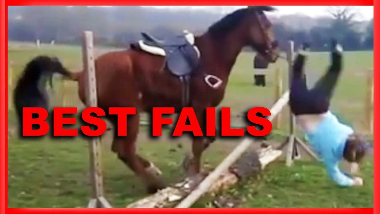 EPIC HORSE FAIL ? | Best Fails Funny Video Compilation #1
