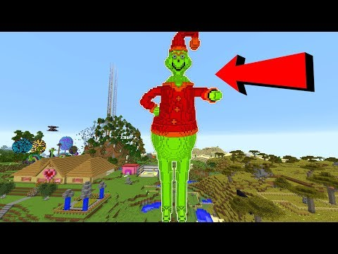 MEGA GRINCH TAKES OVER MINECRAFT!!! thumbnail