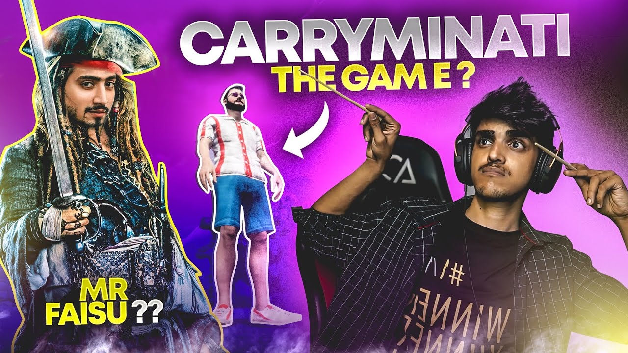 This 14 Years KID made best game for CarryMinati | By @TesRekt 