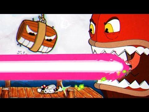 I'M FIRING MY LASER BEAM | Cuphead - Part 7