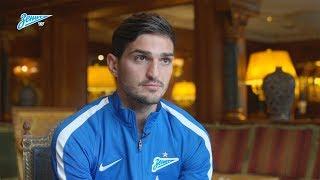 Магомед Оздоев на «Зенит-ТВ»: «Хочу всегда выигрывать!»