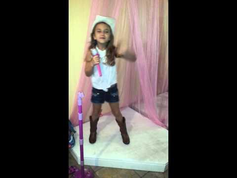 Riley singing Jake Owen