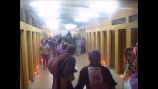 Procesión Tinku, Estadio Nacional, Zona de detención de mujeres, 11 de Septiembre 2014