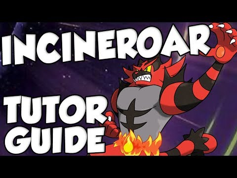 Move Tutor Movesets - Incineroar! Pokemon Ultra Sun and Ultra Moon Incineroar Moveset