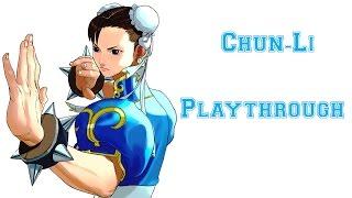 Street Fighter III: 3rd Strike - Chun-Li Playthrough