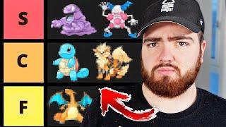 The ULTIMATE Gen 1 Pokemon Tier List