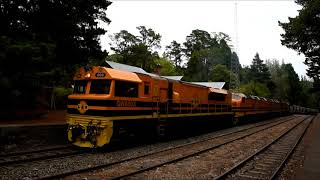 Freight trains Adelaide Hills 22 2 2018