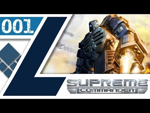Black Earth - COOP UEF - Let's Play - Supreme Commander - #001