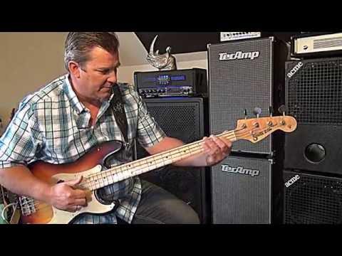 Nordstrand NP4v pickups - P Bass mod - Andy Irvine
