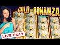 GOLD BONANZA slot machine LIVE PLAY BONUS and big wins!