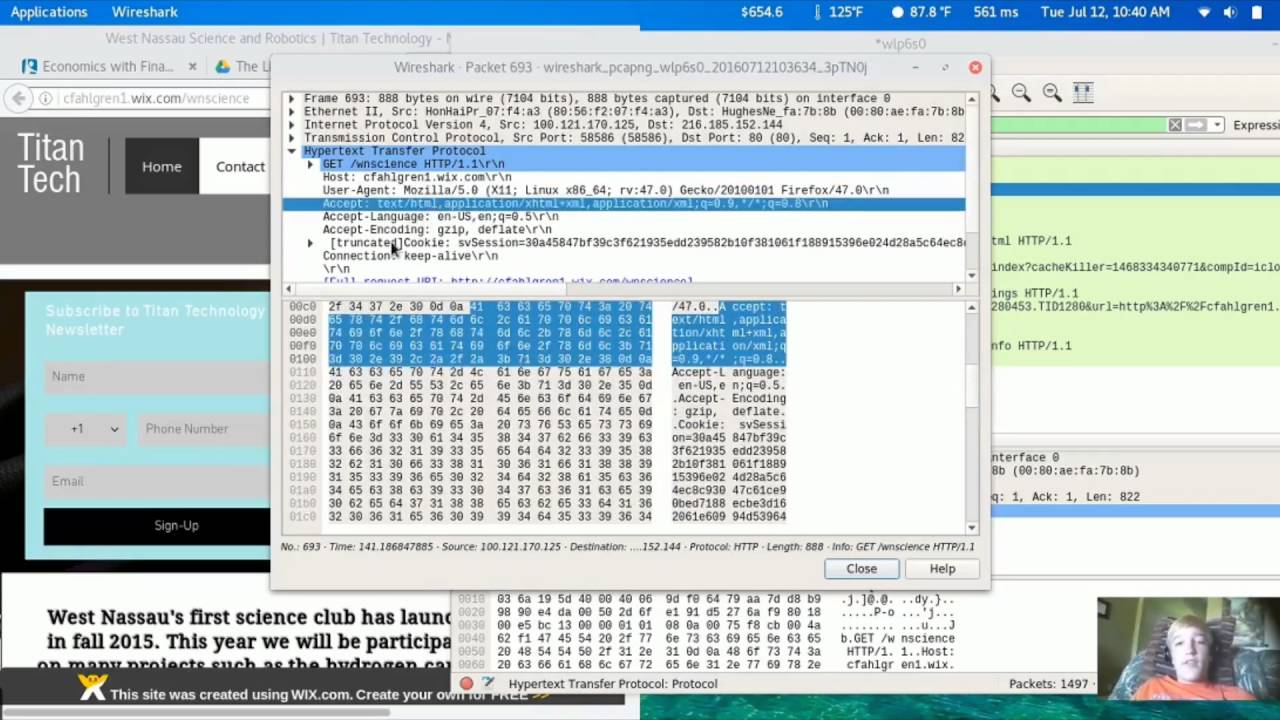 Packet Sniffing with Wireshark