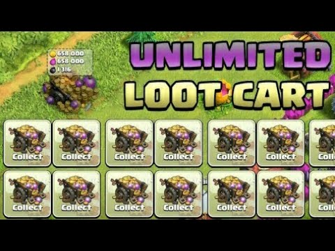 UNLIMITED LOOT CART GLITCH / CLASH OF CLANS / SEPTEMBER 2017 / 100% WORKING / WITH PROOF / COC