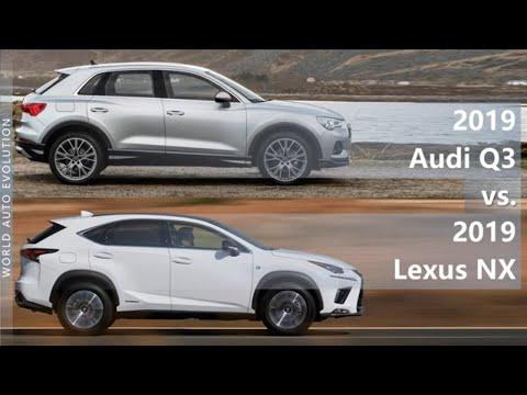 2019 Audi Q3 vs 2019 Lexus NX (technical comparison)
